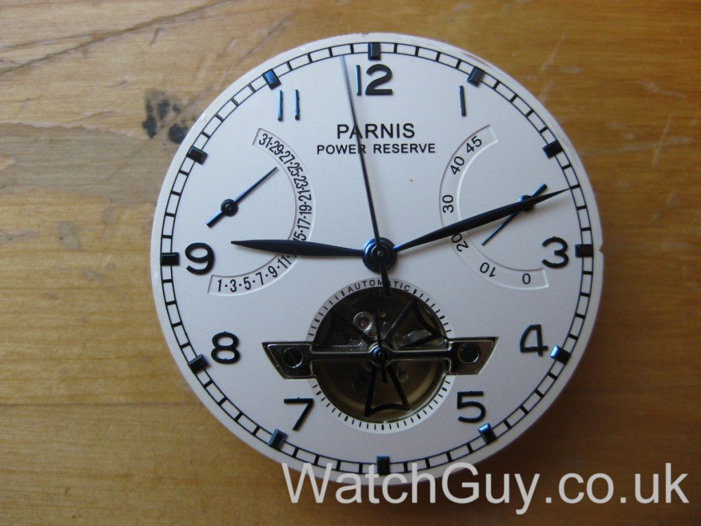 Review: Parnis Automatic Power Reserve