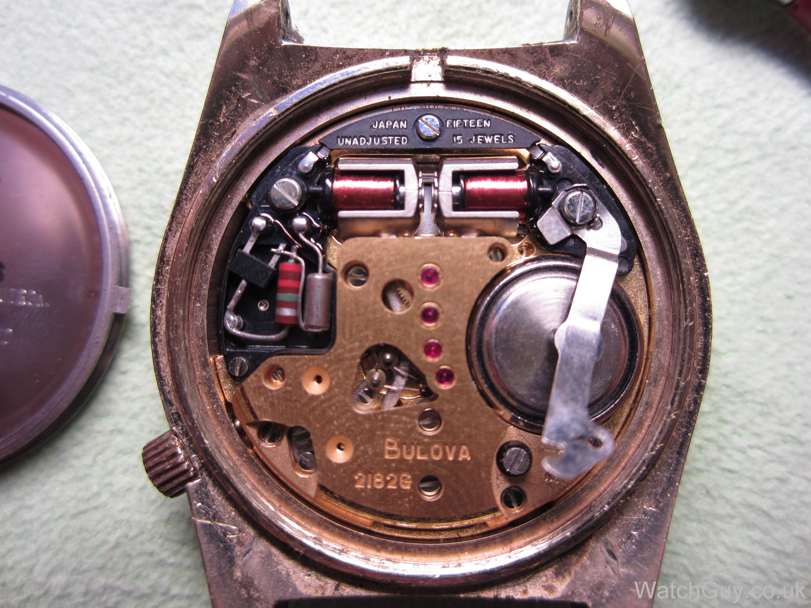 how to change a battery on a bulova watch