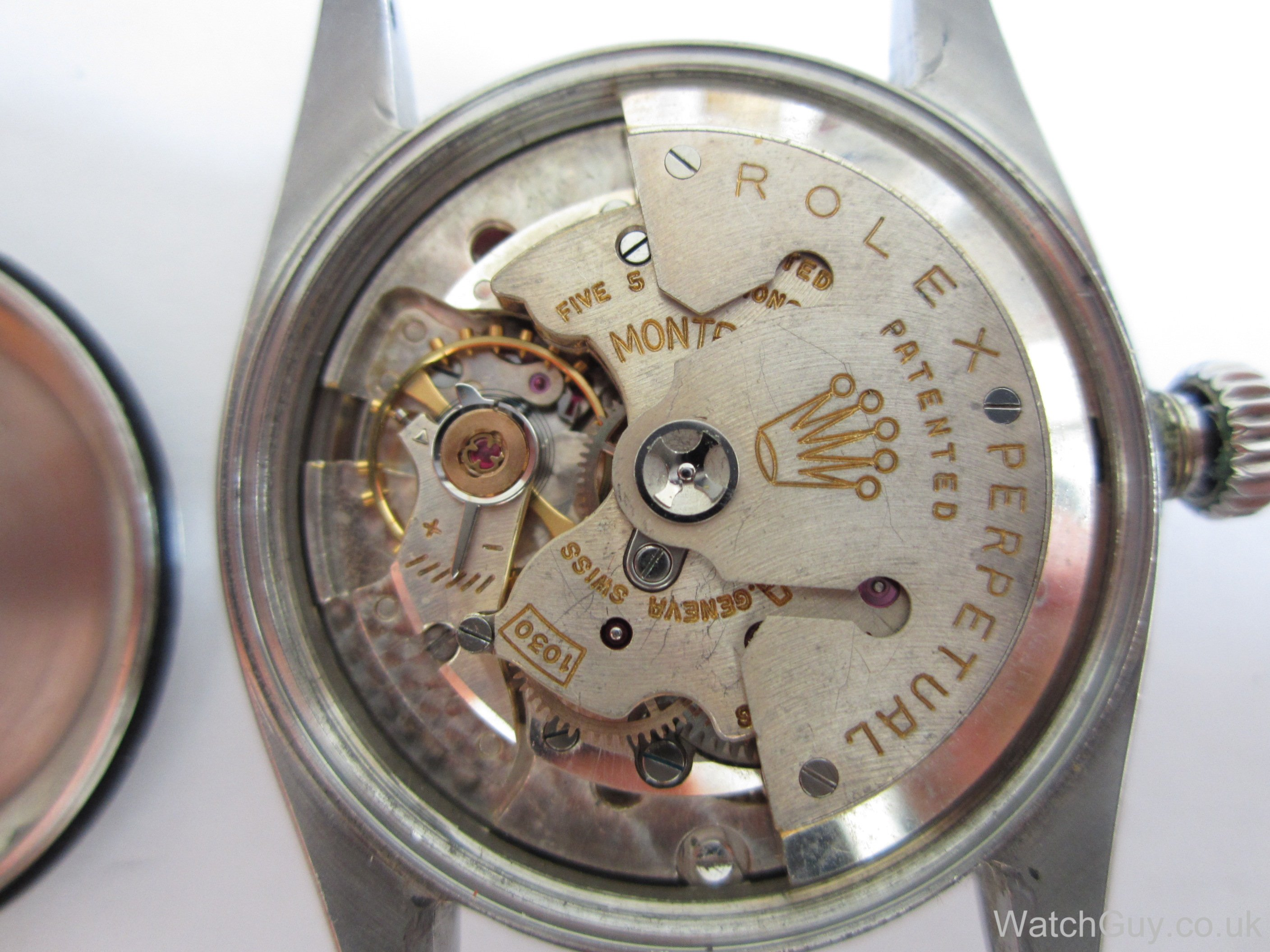 how to clean vintage watch movement