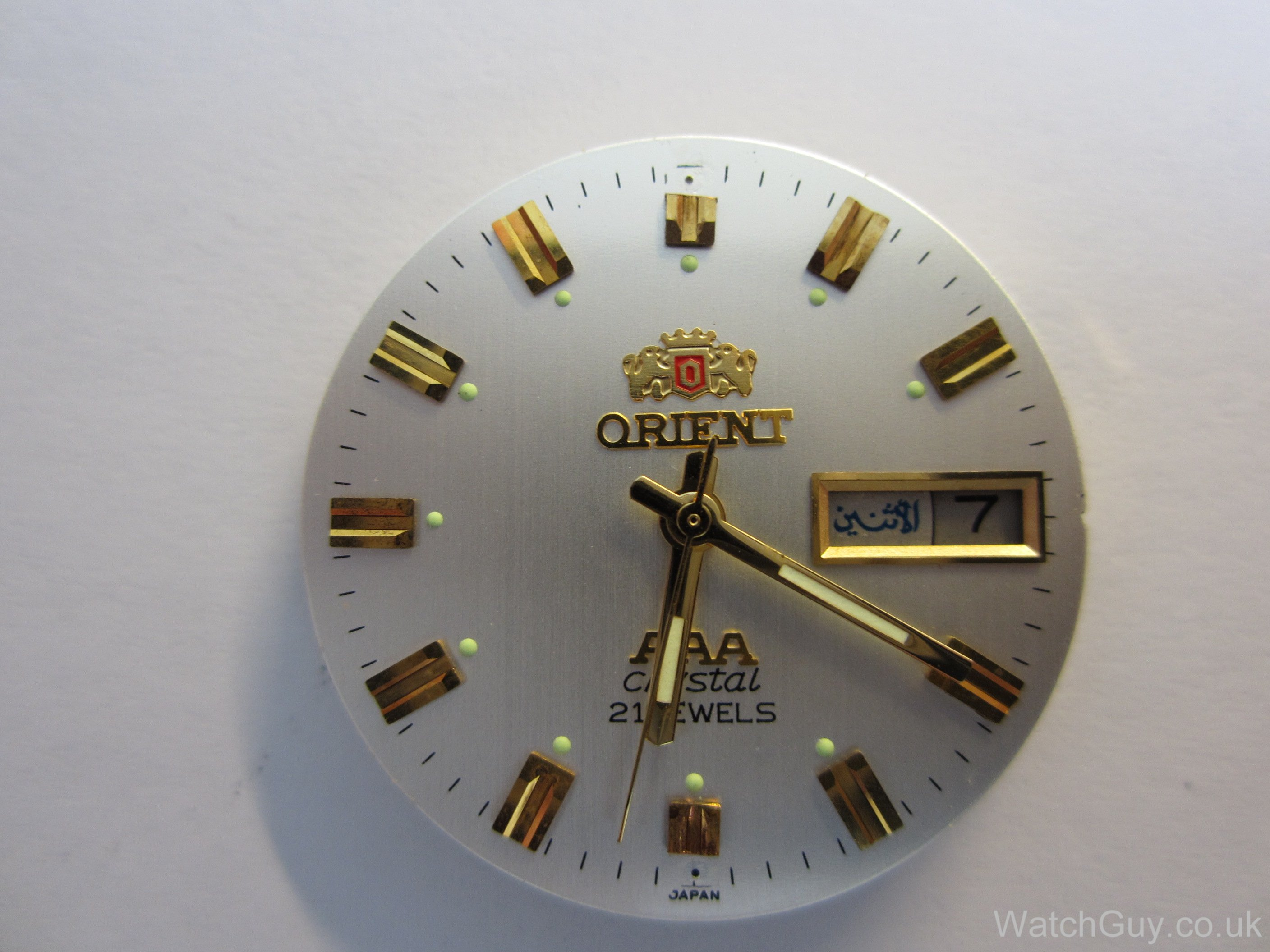 Service orient daydate calibre 4694 watch guy without amipublicfo Images