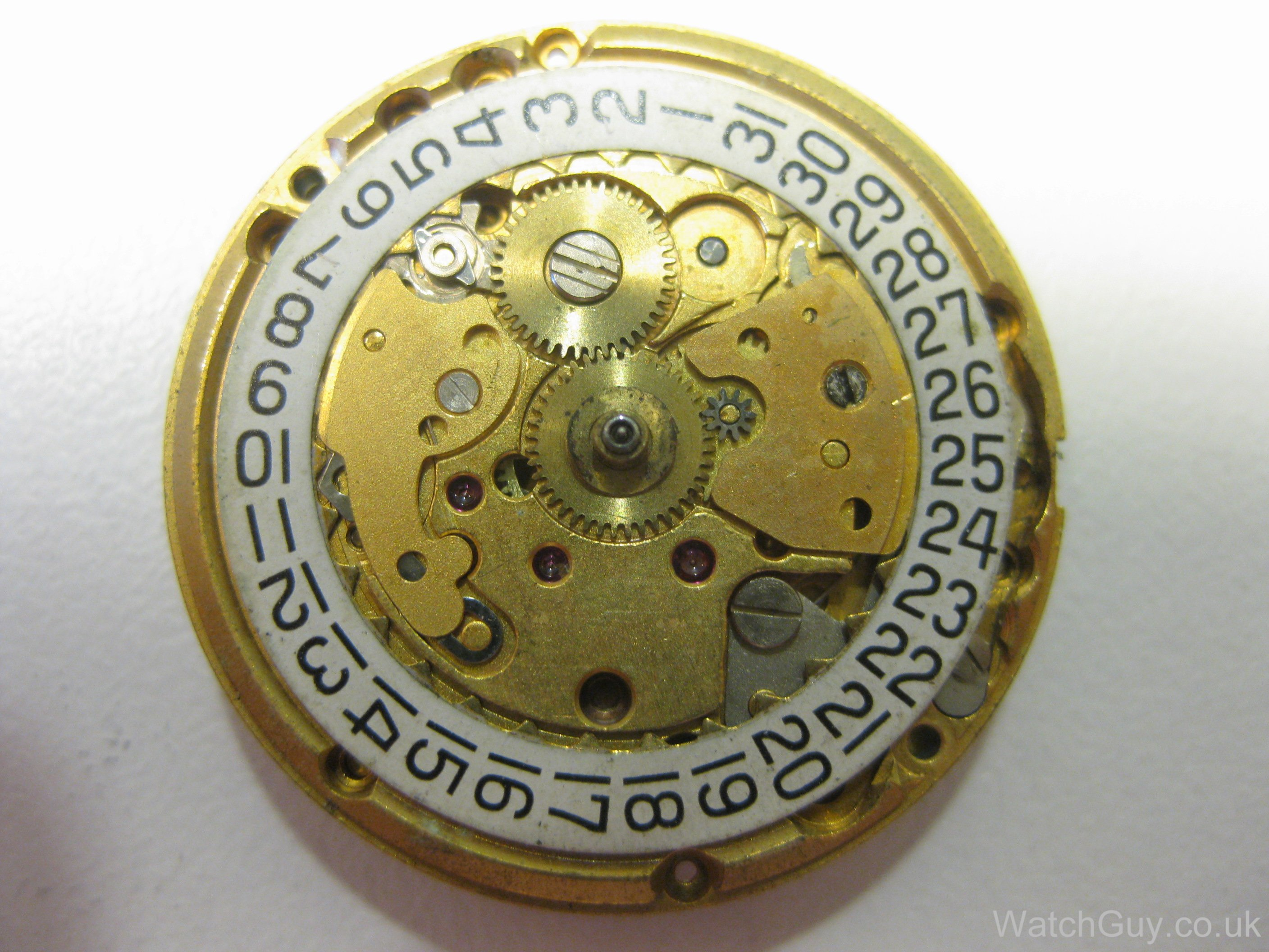 This is the calibre 2481, with the first incarnation of the quick-set date  which requires pushing the crown in. The quick-set mechanism was modified  in ...