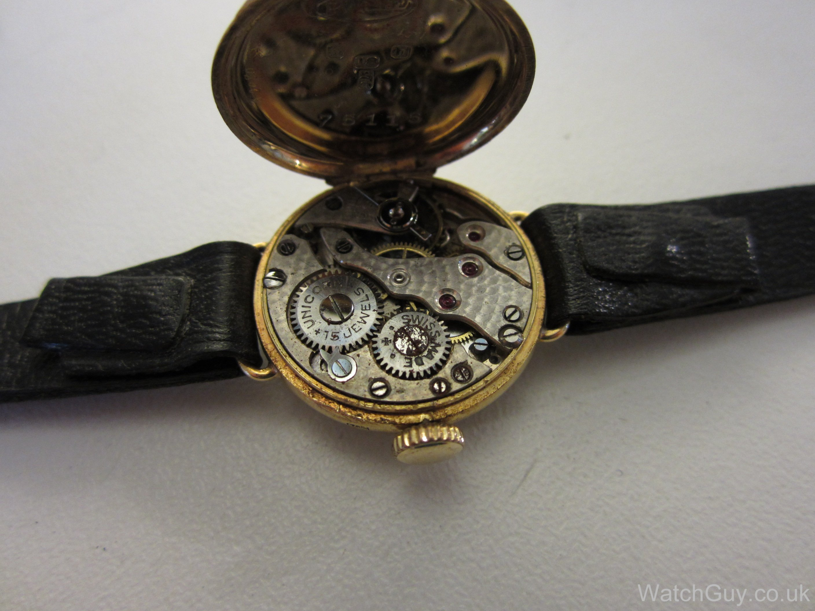 Service + Repair Ladies\u0027 watch with Unicorn movement