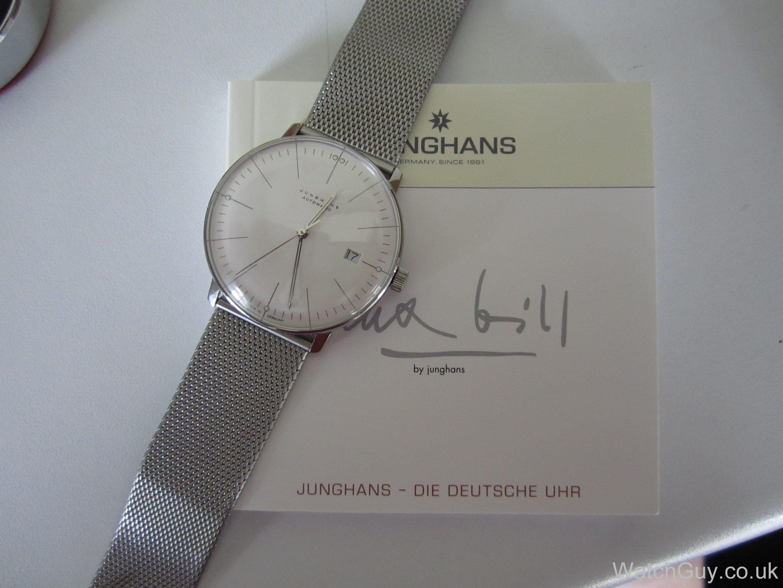 review junghans max bill automatic date 027 calibre j800 1 eta2824 2 watch guy. Black Bedroom Furniture Sets. Home Design Ideas