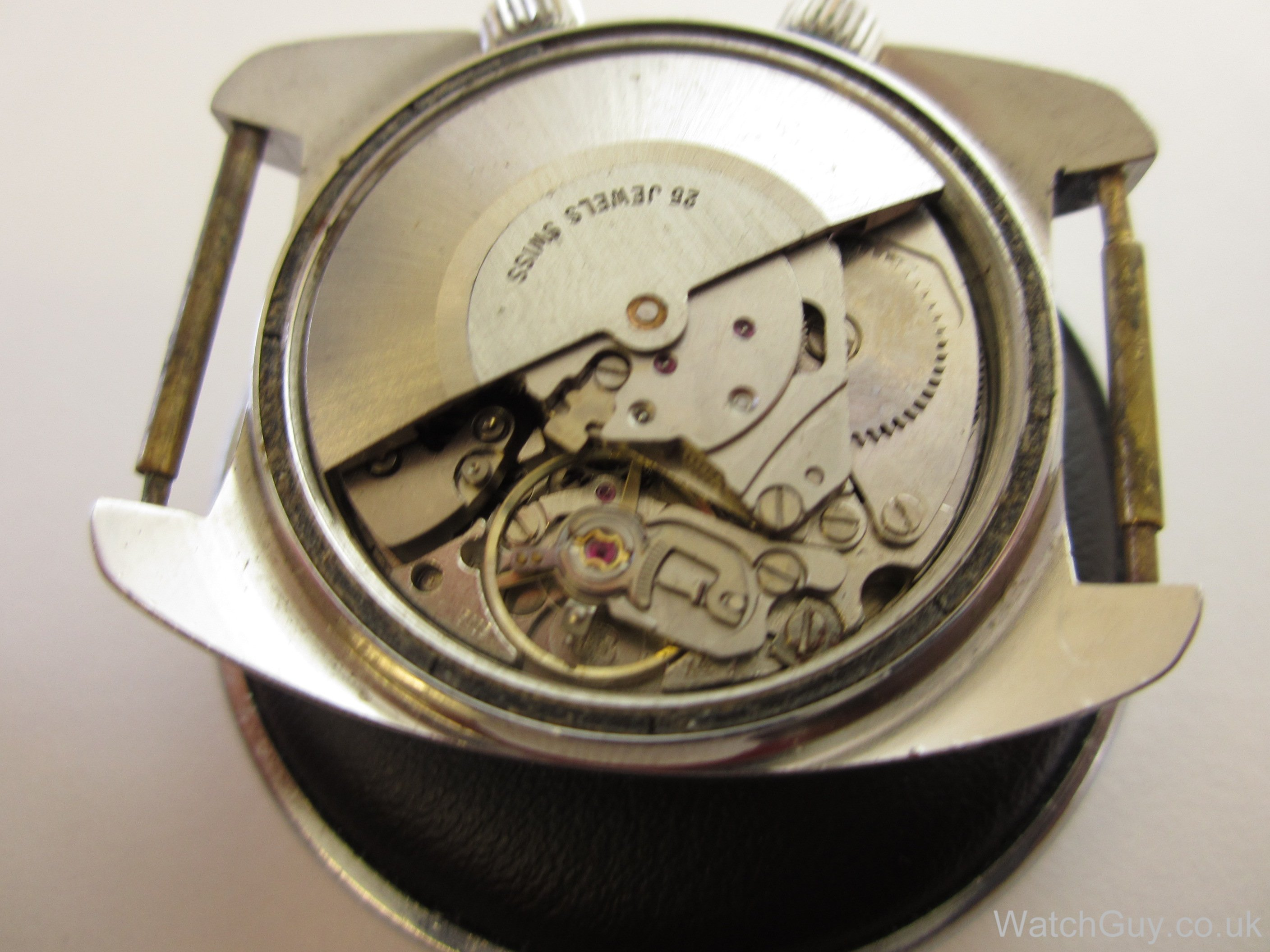 Repair of high-end watch movements