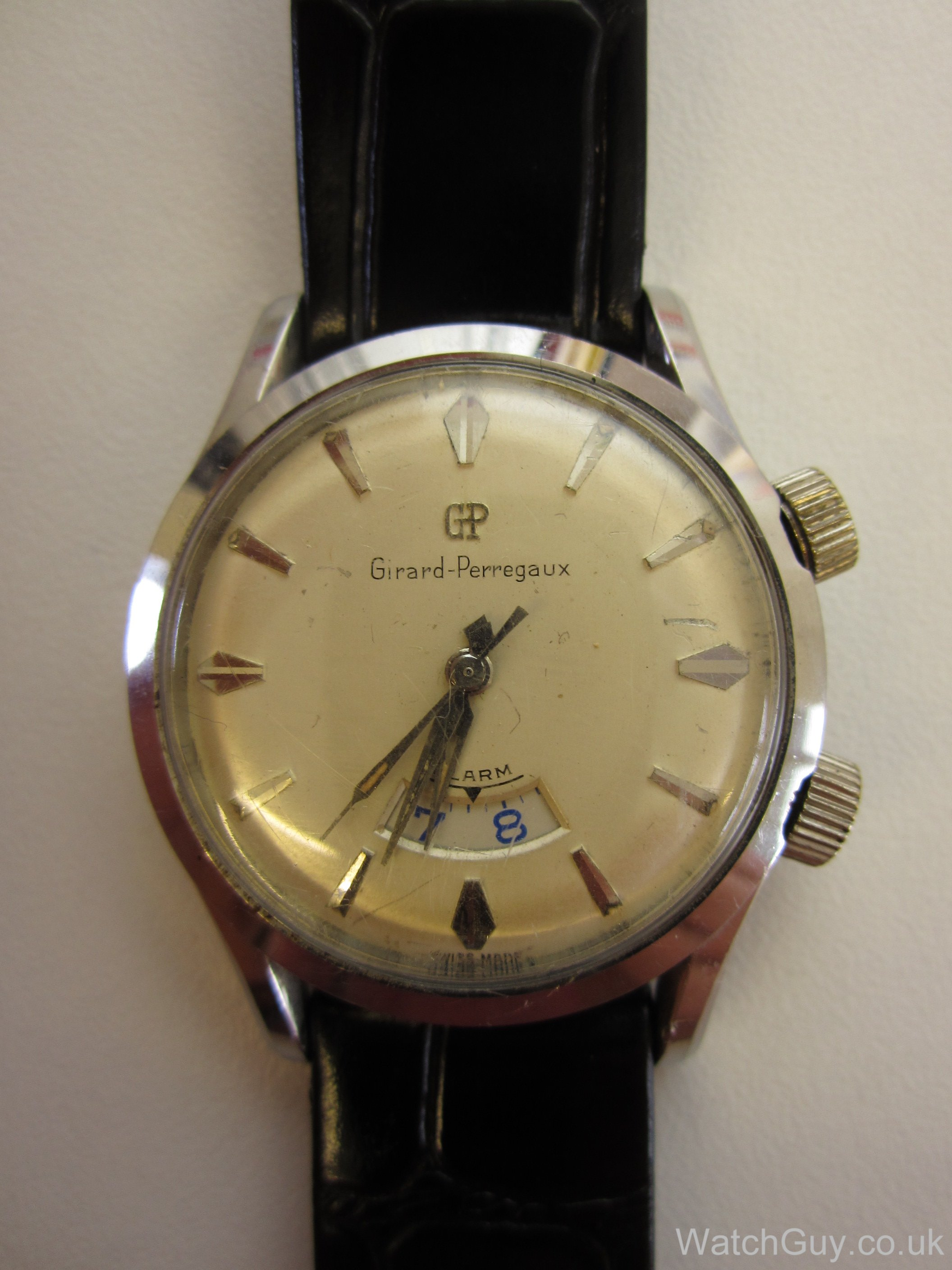 Service girard perregaux alarm as1475 watch guy for Girard perregaux