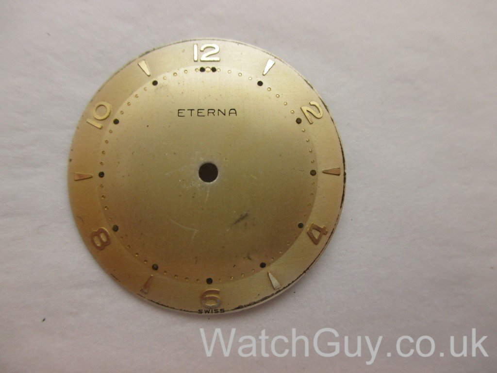 Eterna dial restored/preserved