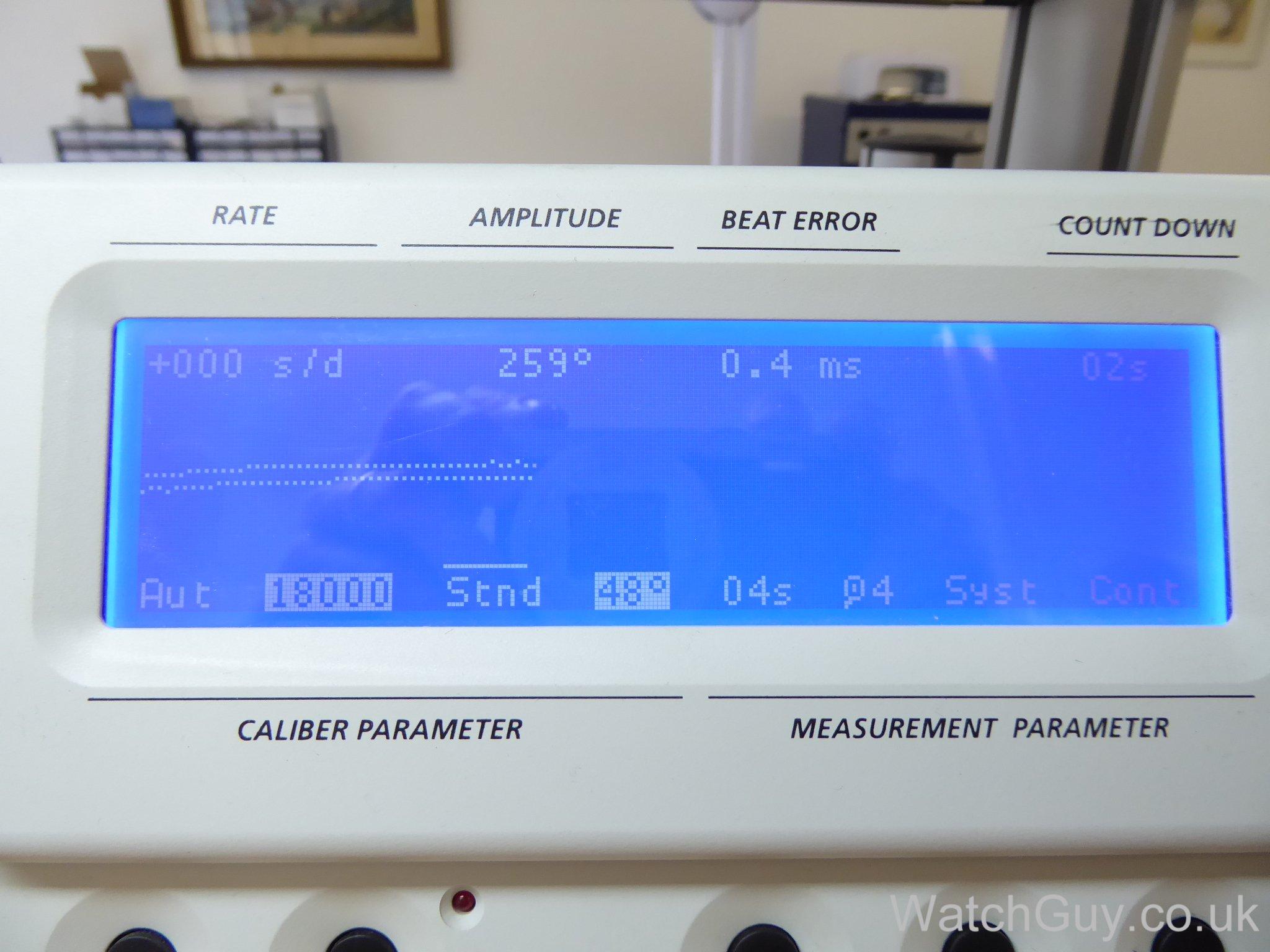 service: lemania chronograph rn nuclear submarine series 3