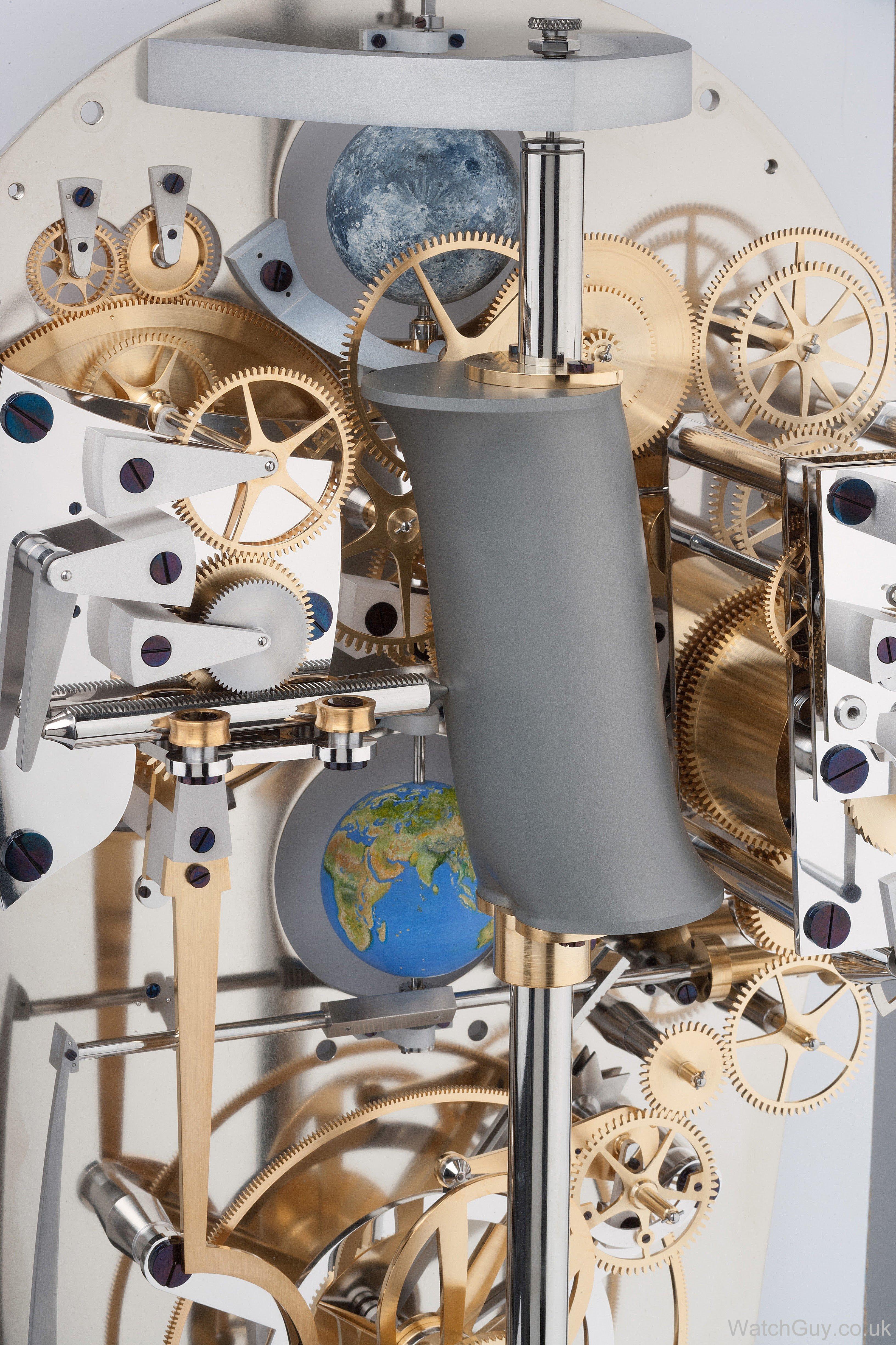 The de Fossard Solar Time Clock | Watch Guy
